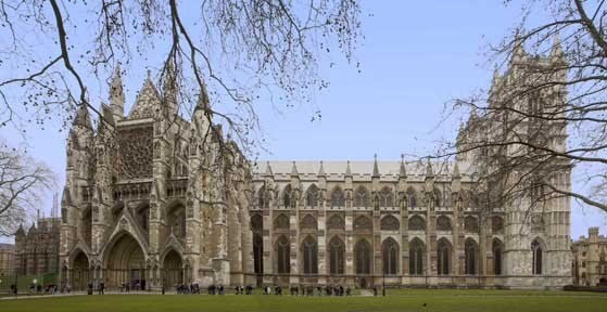 Westminster Abbey north side
